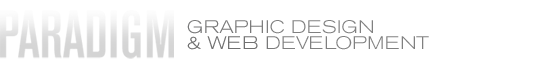 Paradigm Graphic Design and Web Development